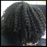 defined-twist-out